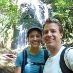 Waterfall in Rincon de la Vieja