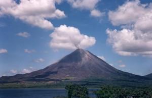 volcano and lake arenal