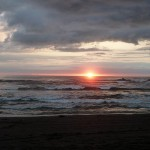 octional beach costa rica sunset