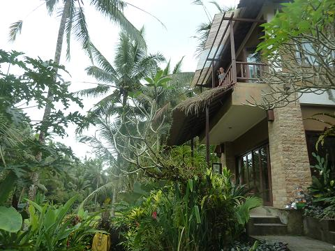 Our house in Ubud